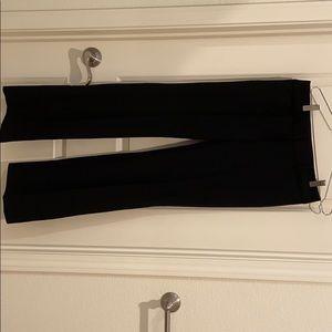 Loft Black Wide Leg Trousers/ Size 0/New w/Tags